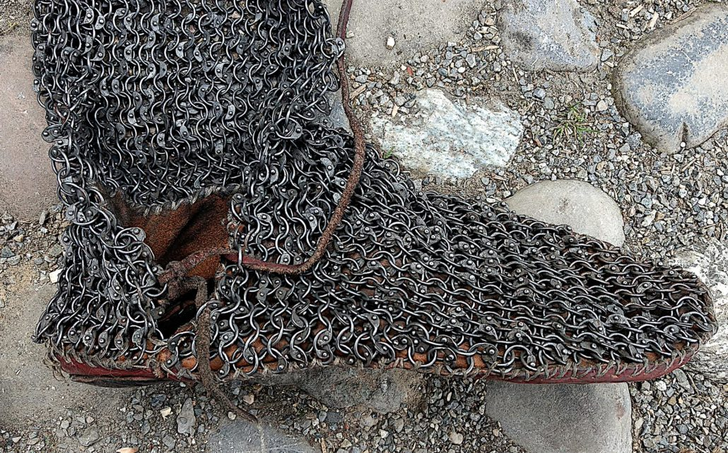 Chainmail-chausses-shoe
