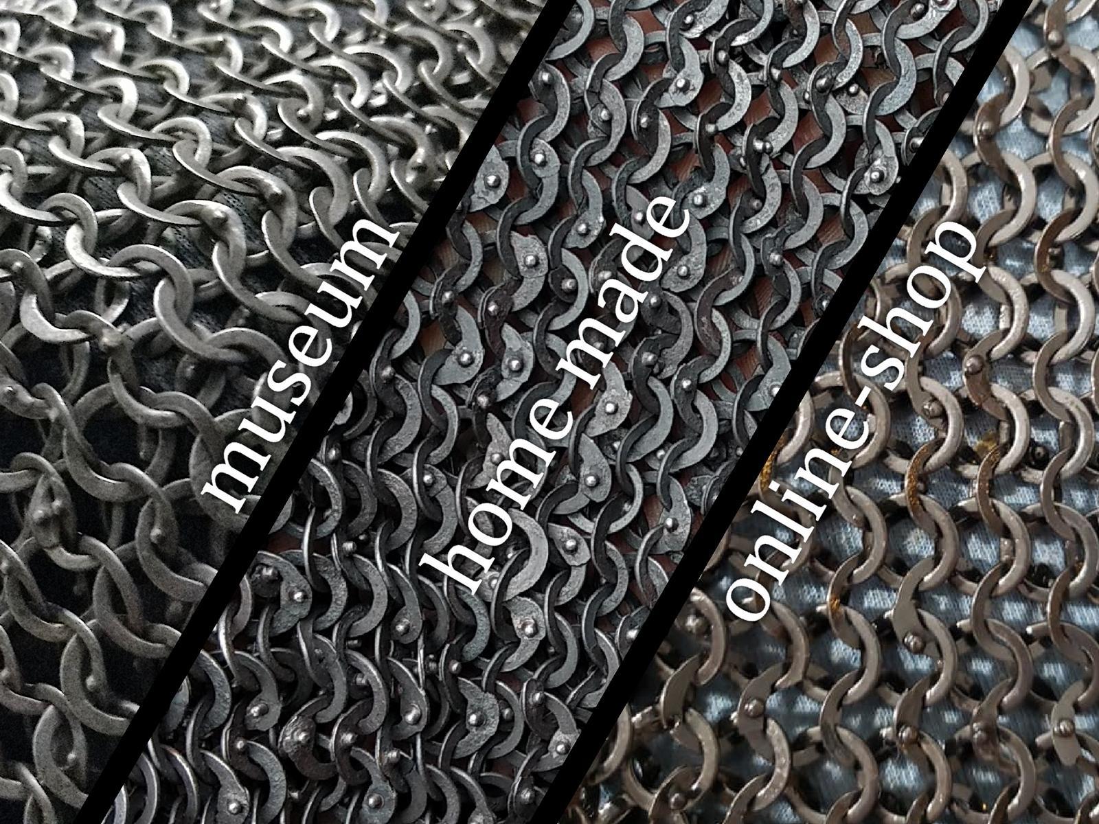 Kettenhemd kaufen - Vergleich vernieteter Ringe