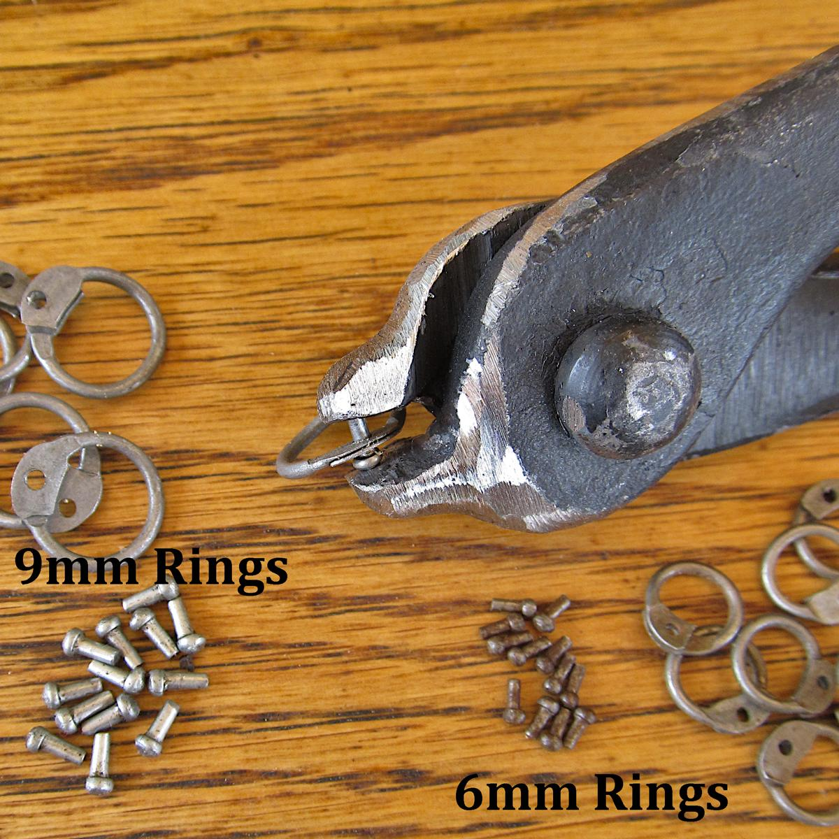 Chainmail Rivet Setting Tongs