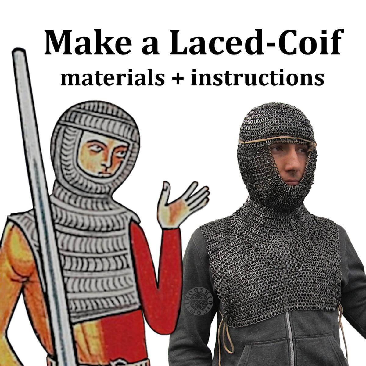 Make a Laced Coif Kit