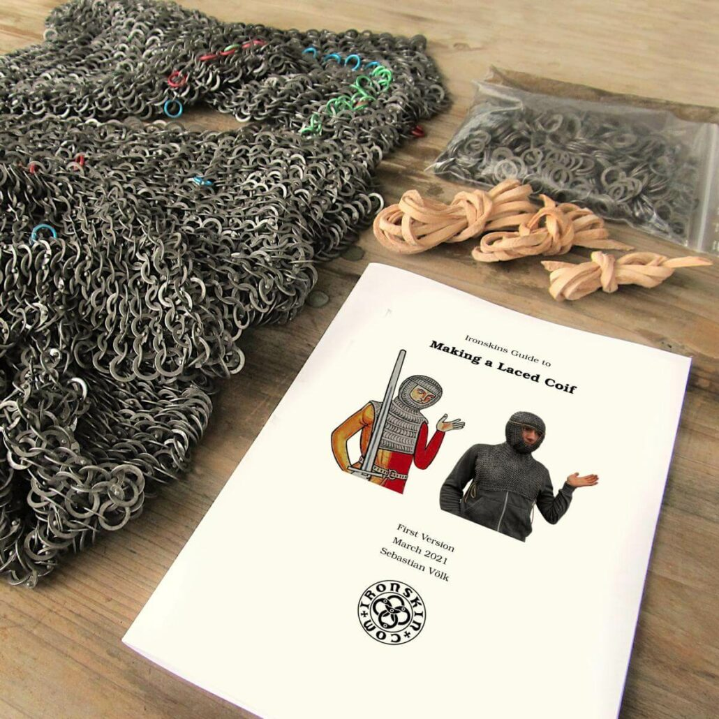 Make A Laced Chainmail Coif Kit